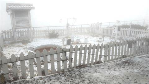 周三全台有雨!3000公尺高山有機會降雪