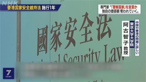 國安法實施將滿一年 香港自由民主全面倒退
