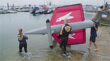 13小時橫越英吉利海峽 英法帆船員為醫護募款
