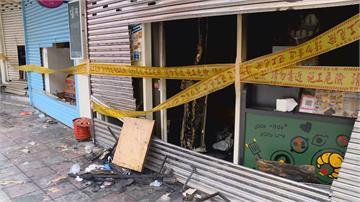 老鼠惹的禍?早餐店大火險燒到店內瓦斯桶