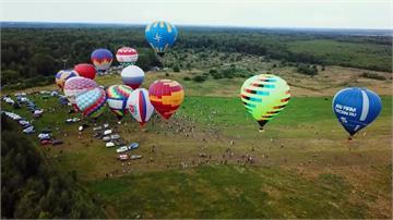 俄羅斯熱氣球節延期登場!因疫情取消夜間表演