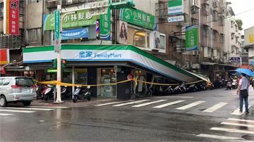 米克拉外圍環流強降雨 超商招牌掉落