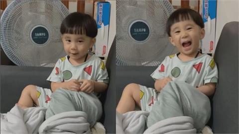 哇恁囝捏!3歲兒不睡覺神頂嘴 奶音台語萌得老爸「又氣又好笑」