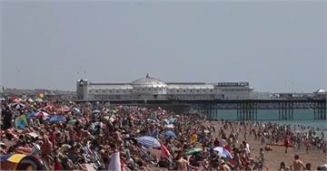 熱浪席捲法國40度 倫敦動物吃冰消暑