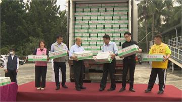 出席台豬外銷日本封櫃儀式蘇揆:外國豬進口會做好把關