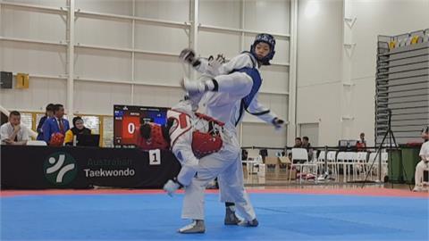 幼稚園開始學跆拳道  19歲羅嘉翎首戰奧運搶進銅牌賽