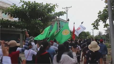 緬甸軍政府斷網路阻止動員 示威者轉用「這招」突圍反抗