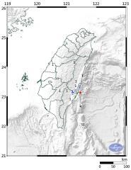 快新聞/地牛翻身! 東部12:25規模4.4地震 最大震度台東4級