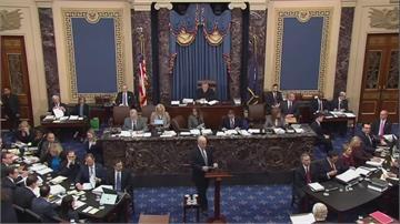 川普彈劾案送交參院 2月9日開始審理   彈劾卸任總統 共和黨議員砲轟愚蠢至極