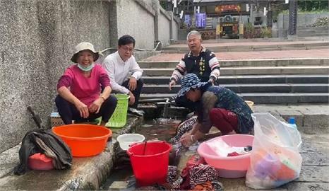 快新聞/八卦山370年紅毛井湧泉不斷 婆媽洗衣抗旱成在地奇景讚:免錢又好用