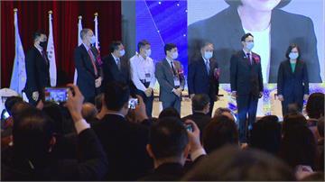 世界台商聯合總會年會 蔡與鄭.柯同台柯文哲高喊「我們都是台灣人」