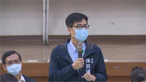 高市議會開幕 陳其邁拜會尋求支持招商建設