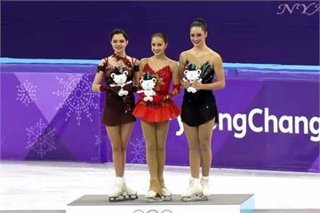 冬奧女子花滑金銀牌 兩美女運動員親如姊妹