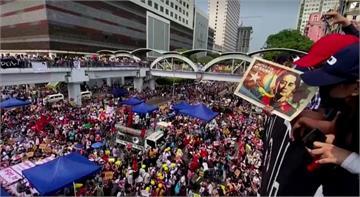 快新聞/緬甸軍事政變掀百萬民眾上街示威 「四方安全對話」呼籲迅速回歸民主