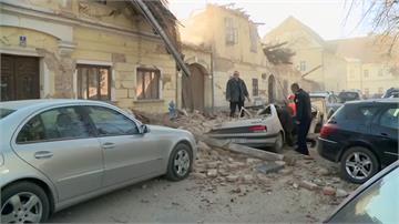 克羅埃西亞規模6.4強震 建築物倒塌.1死多傷