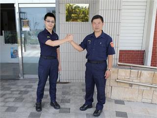 快新聞/台東2對警察父子檔同分局 「在分局相處時間比在家多」