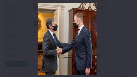 美國務卿布林肯會立陶宛外長  挺台抗中國威脅