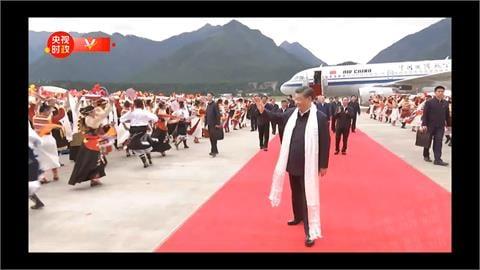 沒事兒?中國河南水患肆虐之際 習近平突訪西藏!
