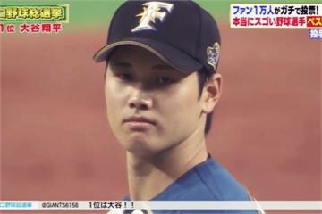 日本棒球總選舉 大谷最佳投手、一朗最強野手