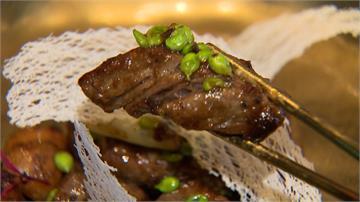 豆豉爆和牛、三蔥炒龍蝦 頂級食材飄粵味