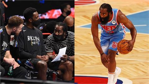 NBA/6星連線再少1人!大鬍子哈登「腿傷復發」將無限期停賽