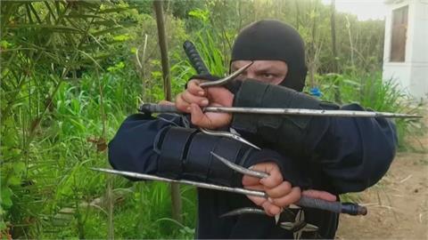 熱愛忍者文化「夢想成為忍者龜」 埃及男子開班傳授忍術