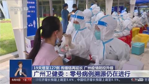 19天127人染疫!廣州再通報6例本土 零號病例溯源進行中