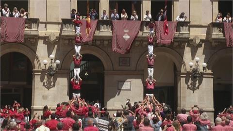 加泰隆尼亞傳統「疊人塔」 疫情後重新回歸
