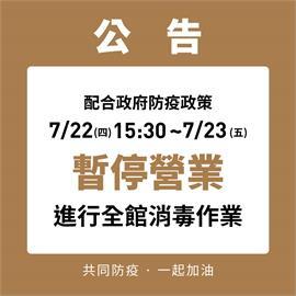 快新聞/桃園特殊交友圈確診者曾前往! 勤美誠品緊急停業消毒至7/23