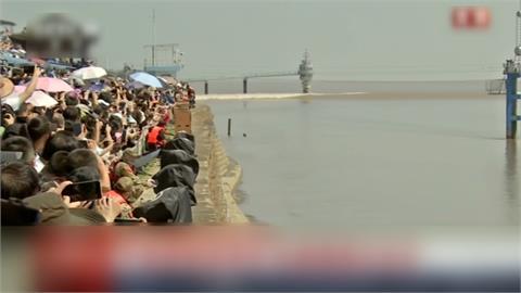 中秋後「錢塘潮」登場 浙江2觀潮點湧大批人潮