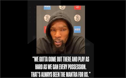 NBA/籃網厄文扭傷將缺陣 杜蘭特矢言一肩扛起球隊