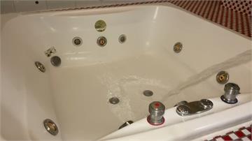 按摩浴缸會吸人!女子背部大片瘀青 女子po網求公道 業者實測表示不解