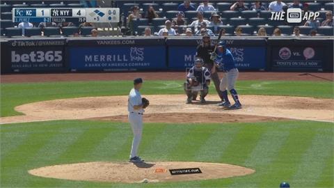 MLB/洋基打擊火力大爆發! 3發全壘打轟垮皇家