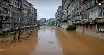 三峽迎來最大洪水 中國暴雨災難不斷