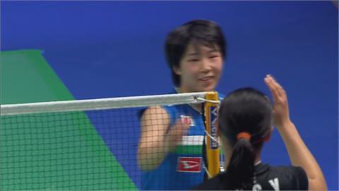 丹麥羽球公開賽 安賽龍逆轉勝球王桃田賢斗 山口茜讓對手累到退賽