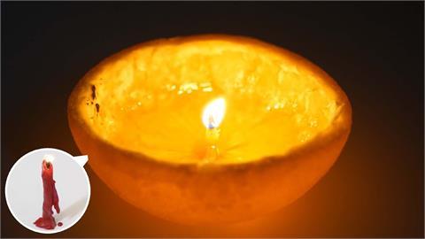 停電小妙招!達人揭7個蠟燭製作方法 食物竟能派上用場