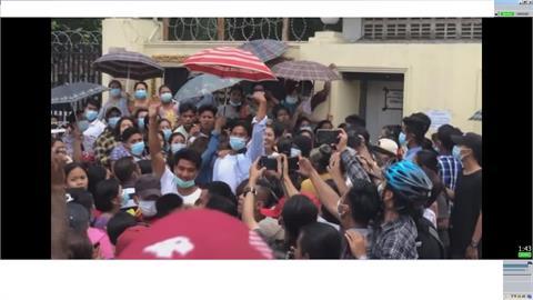 緬甸新年 軍政府釋放2.3萬囚犯 多為政變前被捕人士