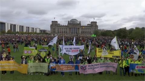 環保少女號召!全球各大城市發起抗暖化示威