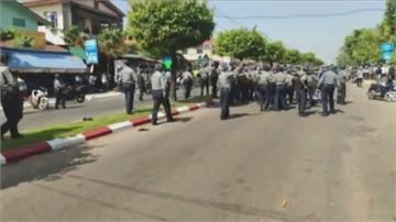 緬甸反政變示威升溫 毛淡棉警方開槍致3人傷