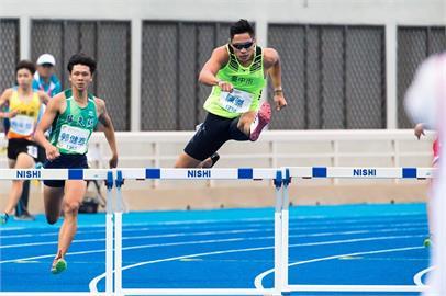 東奧/「跨欄王子」陳傑400M跨欄50秒96分組賽墊底 無緣晉級準決賽