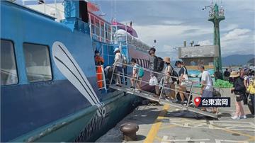 快新聞/巴威「大尾巴」離台 綠島蘭嶼船班明天停駛