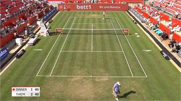 武漢肺炎疫情後首度迎球迷 柏林網球表演賽800人觀戰