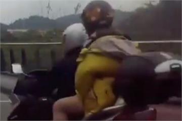 三貼闖快速道路!騎士跑給警察追罰單變三張