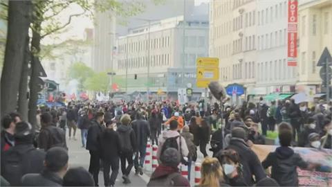 五一勞動節多國勞工示威爭取保障!土耳其212人違防疫限制被拘