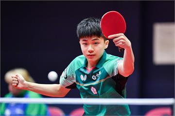 桌球/林昀儒擊敗中國選手樊振東 T2桌球鑽石賽奪冠