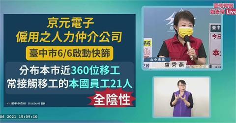 快新聞/苗栗爆發移工群聚 台中緊急快篩363名移工結果出爐
