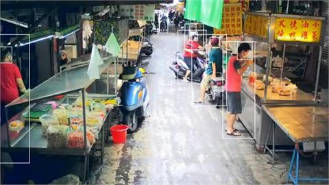 快新聞/台南推在家看傳統市場人潮 超過人流「大聲公廣播」自動示警