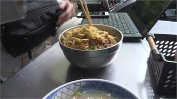 古早味小吃開啟新的一天!雲林三代肉燥乾麵配肉羹湯