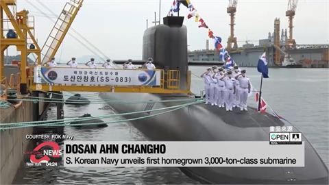 南韓首度成功試射 自主研發潛射彈道飛彈