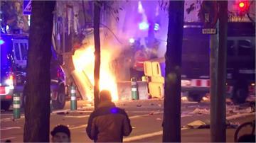 西班牙足球賽開「打」加獨人士與警方爆衝突釀40多人受傷